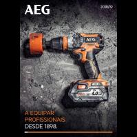 AEG Catálogo 2018-19
