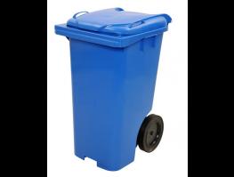 Contentor p/ lixo - 120Lt Azul